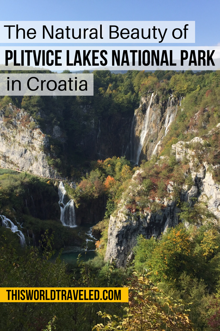 Plitvice Lakes National Park in Croatia has many beautiful waterfalls and lakes to discover