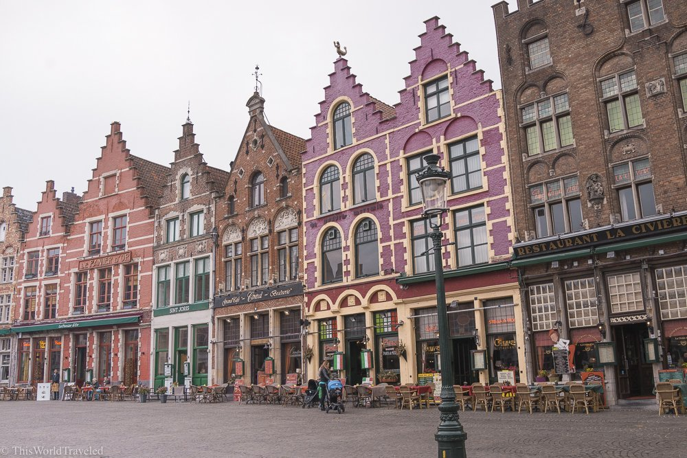 Wandering the Cobblestone Streets of Old Town Bruges