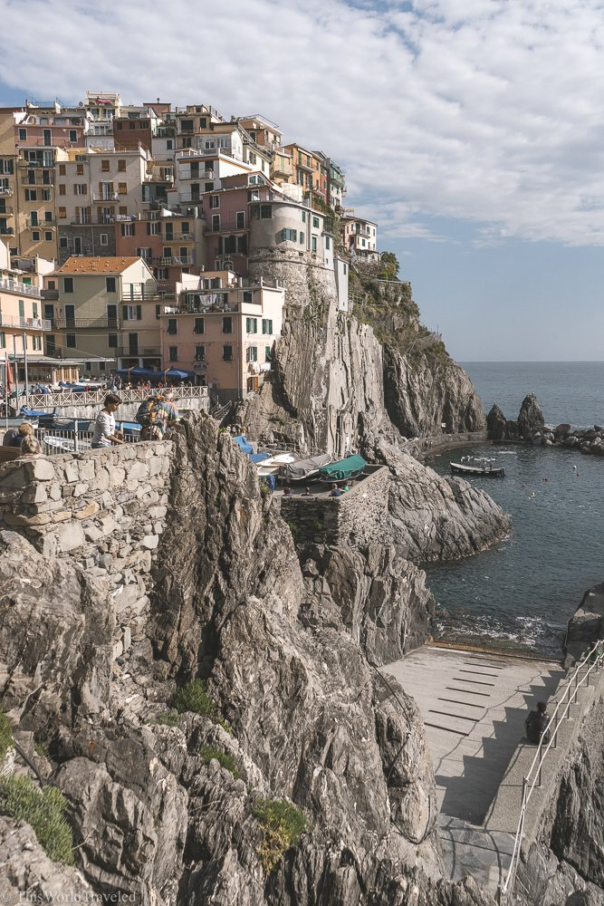 The beautiful town of Manarola is one of the most popular places to visit in Cinque Terre