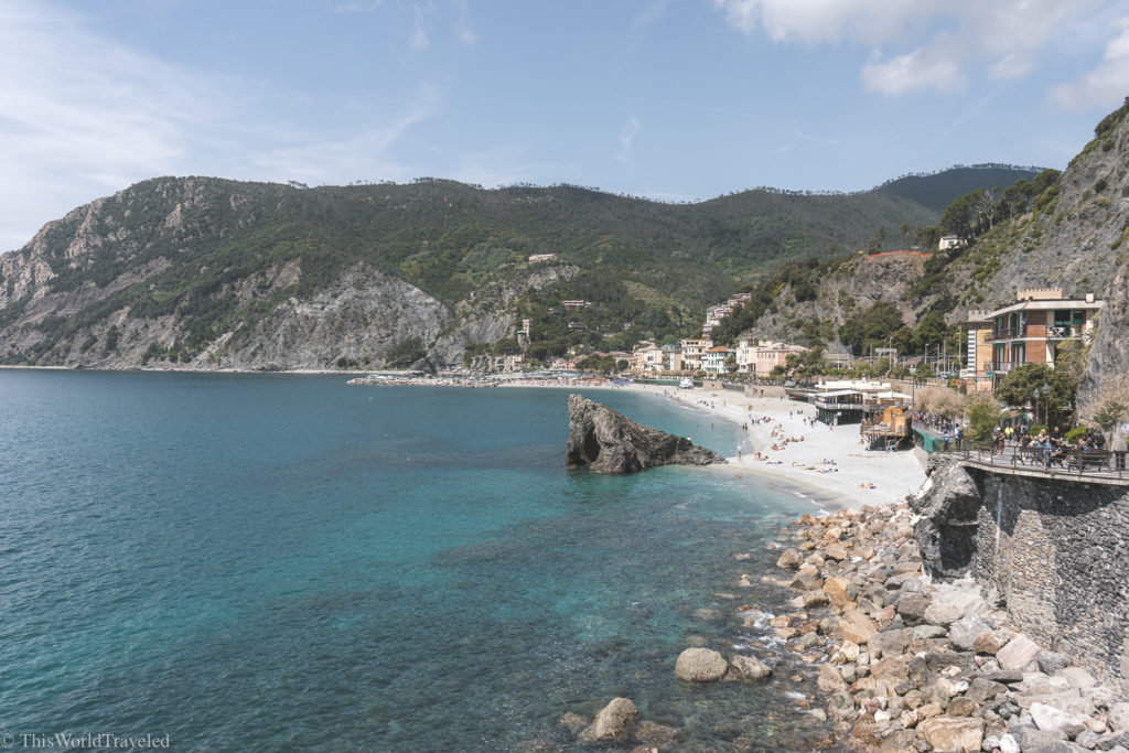 The beaches of Monterosso al Mare are perfect for relaxation
