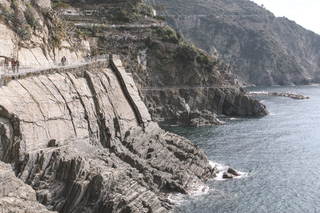 There are many paths and trails that connect the villages of Cinque Terre