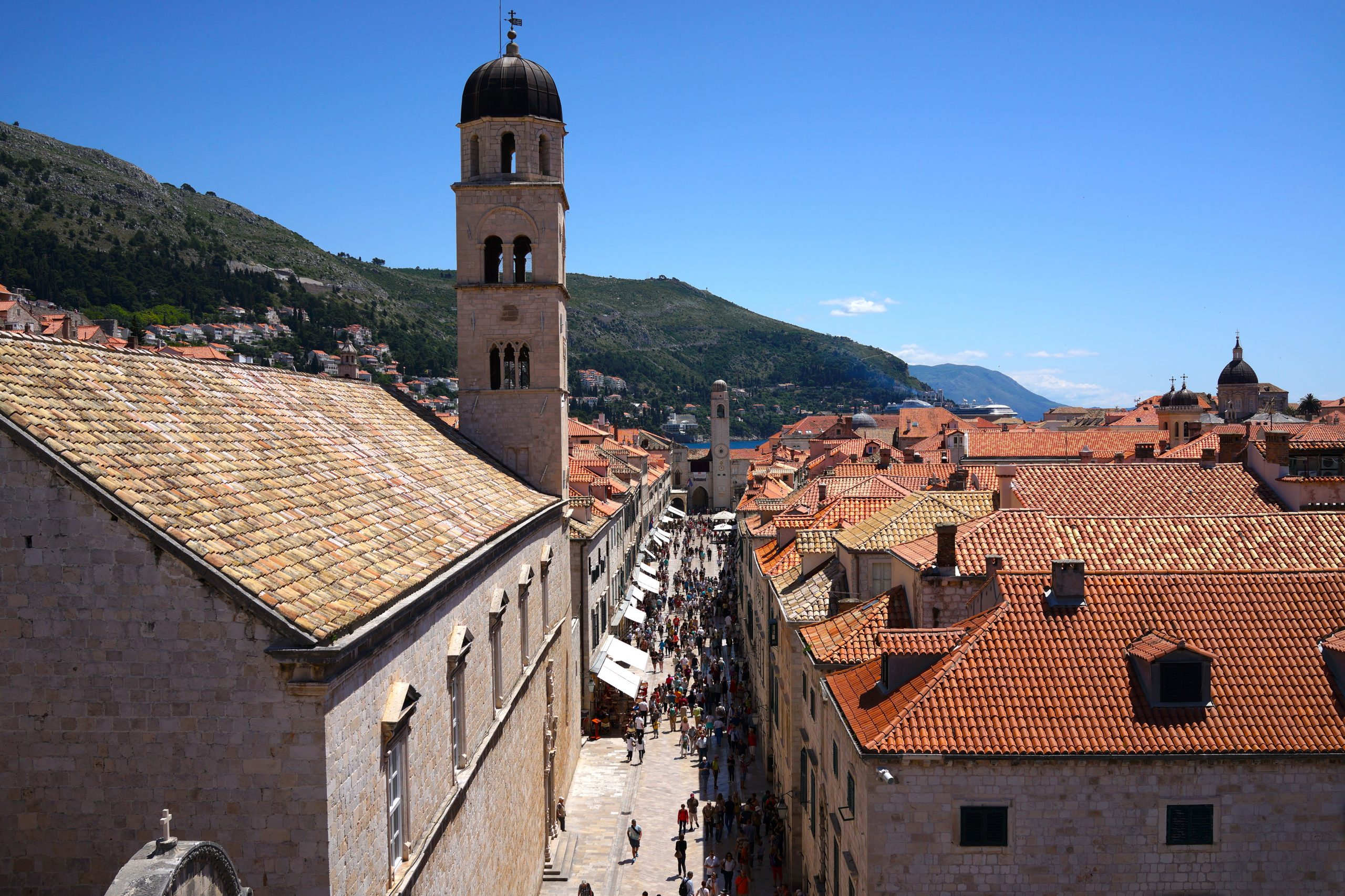 Walking the Old Town Walls of Dubrovnik