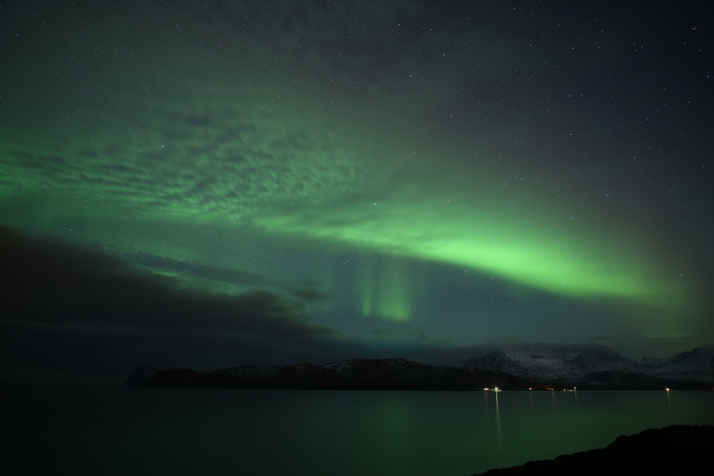 Norway is our favorite place to watch the northern lights dance in the sky