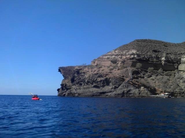 Photo courtesy of Santorini Sea Kayak