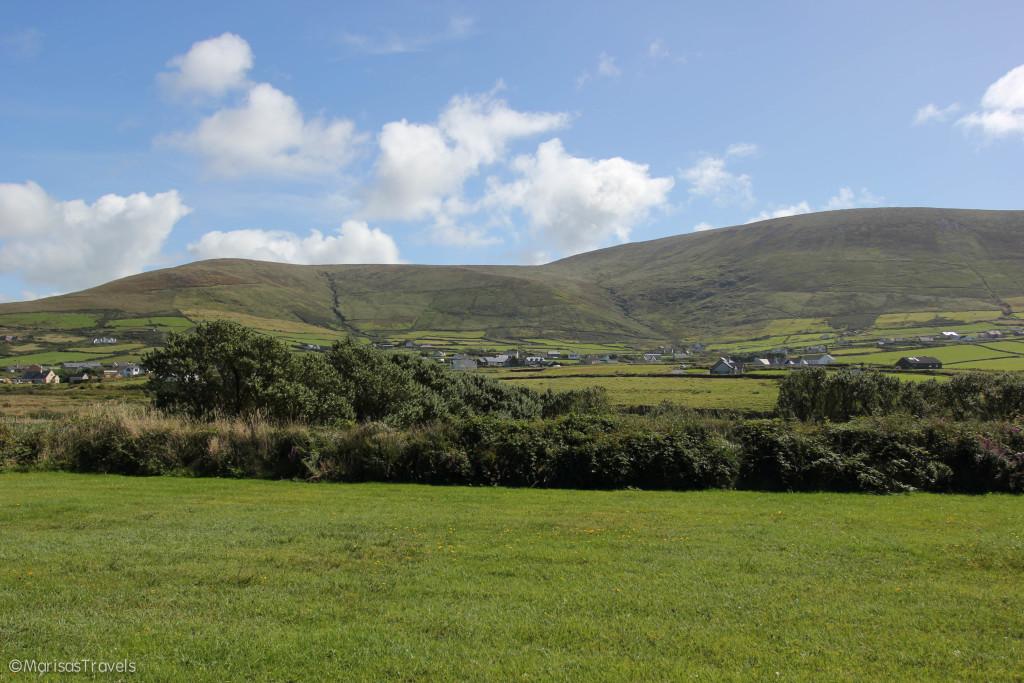 Beautiful Irish landscape surrounding the Great Blasket Centre