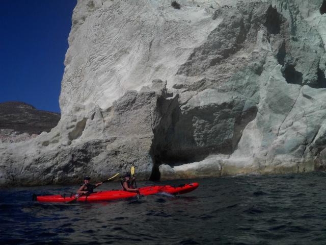 Photo courtesy of Santorini Sea Kayak