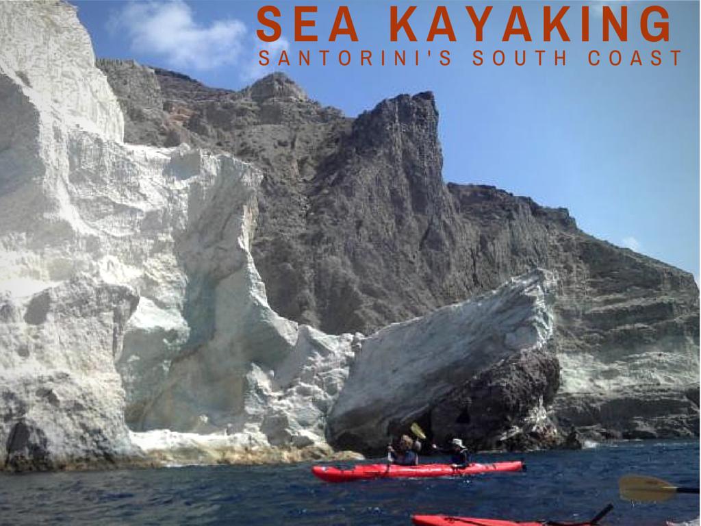 Sea Kayaking in Santorini Greece