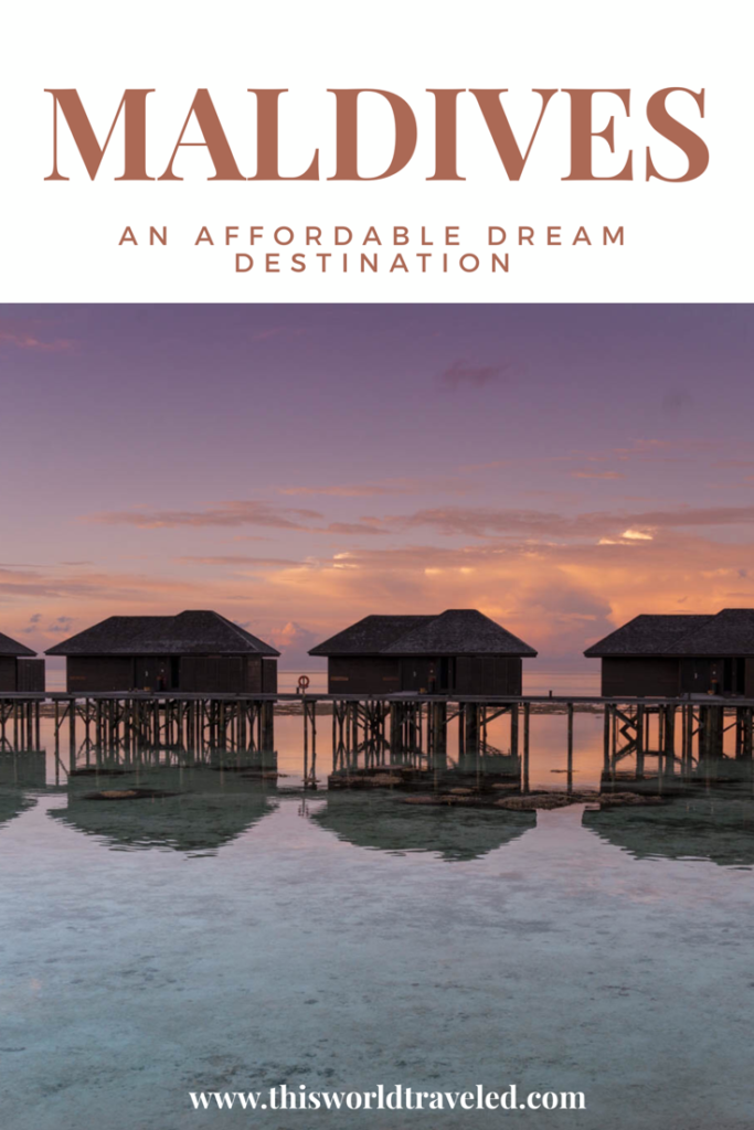 Read all about how to travel to the Maldives in the most affordable way