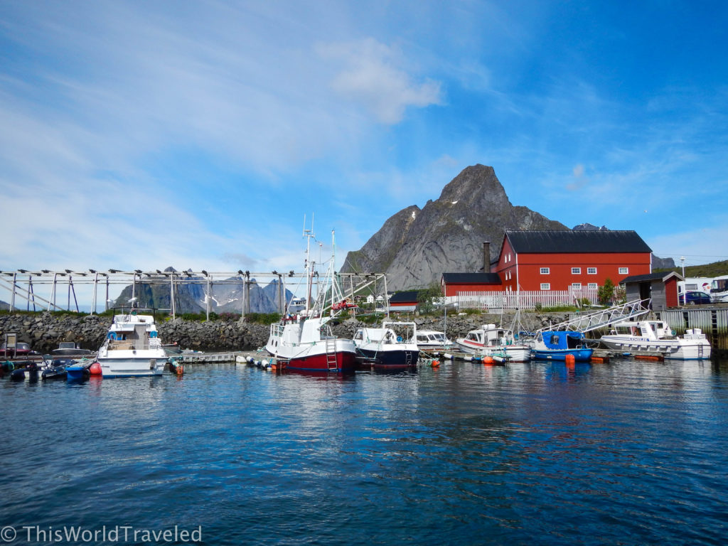 Kayaking in Reine with Reine Adventures