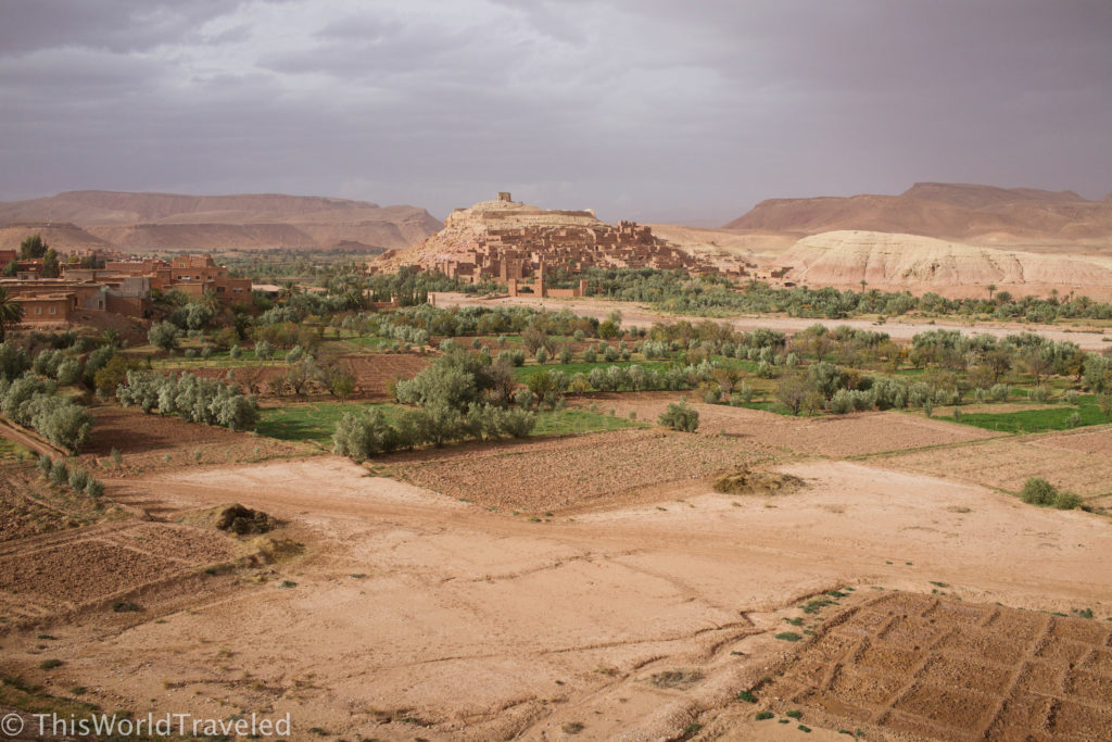 More of the incredible scenery along the drive back from the Zagora desert to Marrakech, Morocco