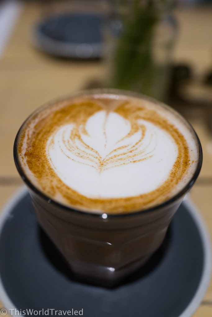 Bakers & Roasters in Amsterdam serves up some of the best coffee and chai lattes in Amsterdam!