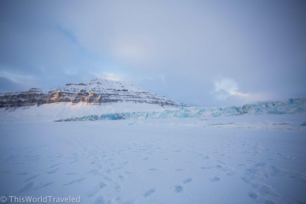 The gorgeous glacier views of Svalbard