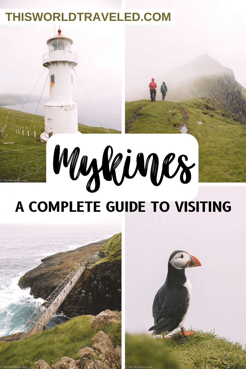 A Travel Guide to Mykines: Where to See Puffins in the Faroe Islands