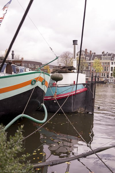 Staying on a houseboat in Amsterdam is a fun way to add adventure to your trip!
