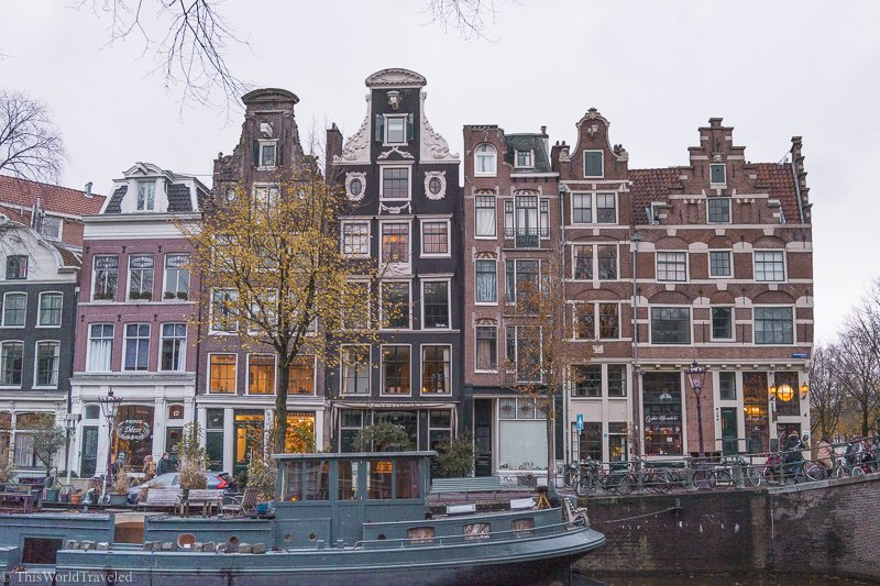 Amsterdam is a beautiful city with so much to see and do! Make sure you try the G's Brunch Boat!