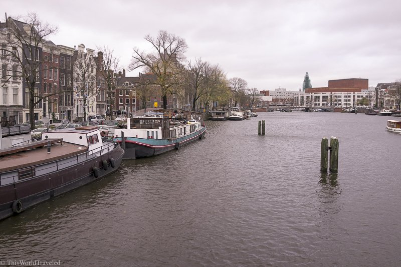 Staying on a Houseboat Along Amsterdam's Amstel River Canal