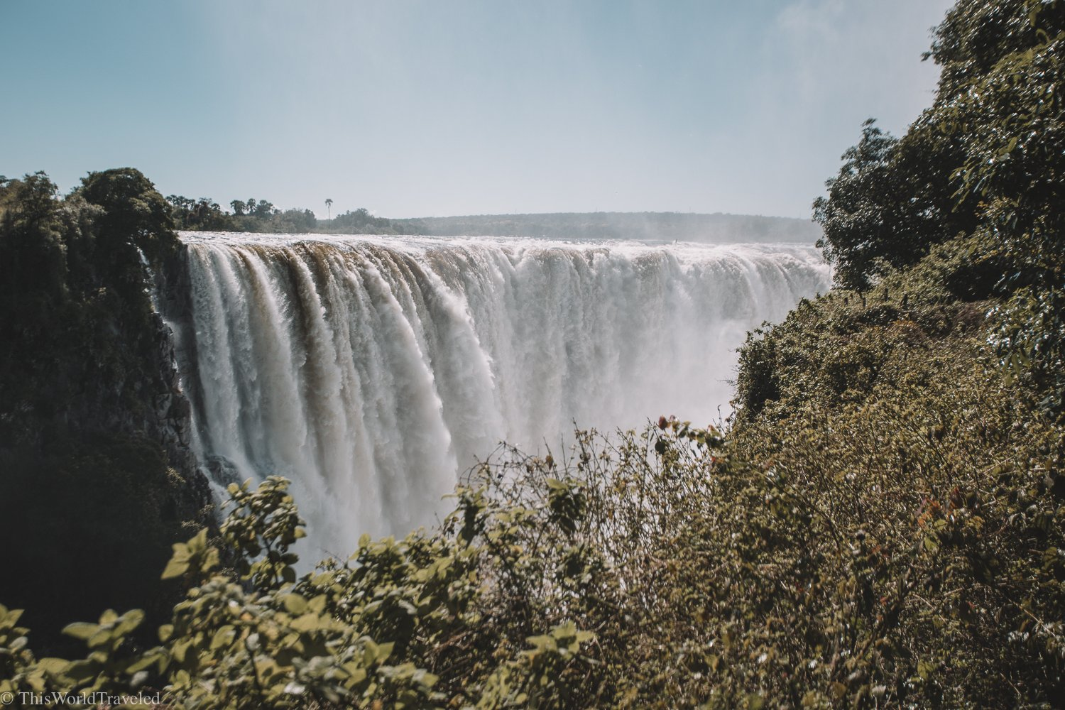 The Roaring Thunder of Victoria Falls: The Largest Waterfall in the World