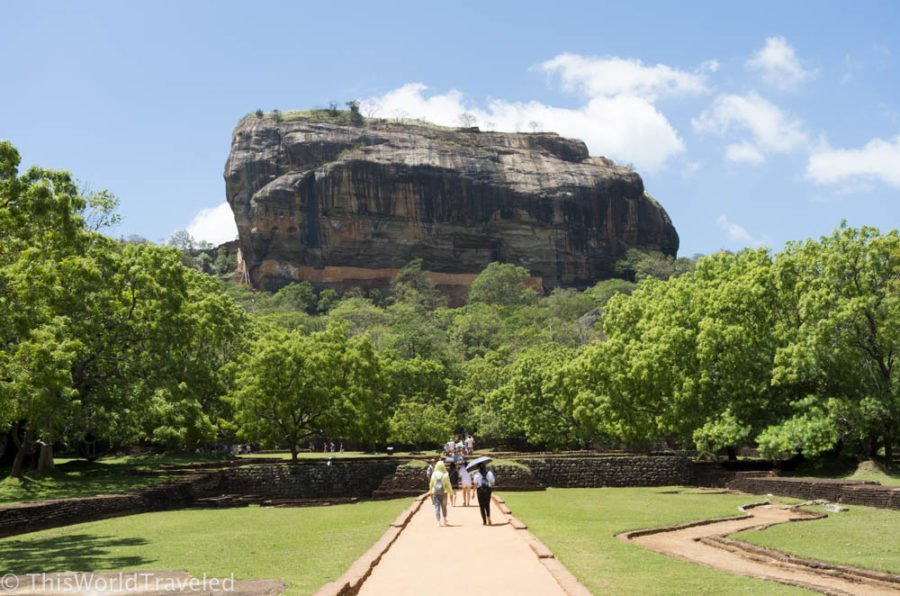 A Day Trip to Sigiriya Rock and the Dambulla Cave Temples