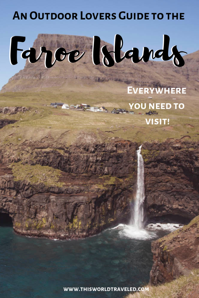 The only outdoor adventure guide you need for the Faroe Islands! Find out where to find the best waterfalls and see all the amazing birds!