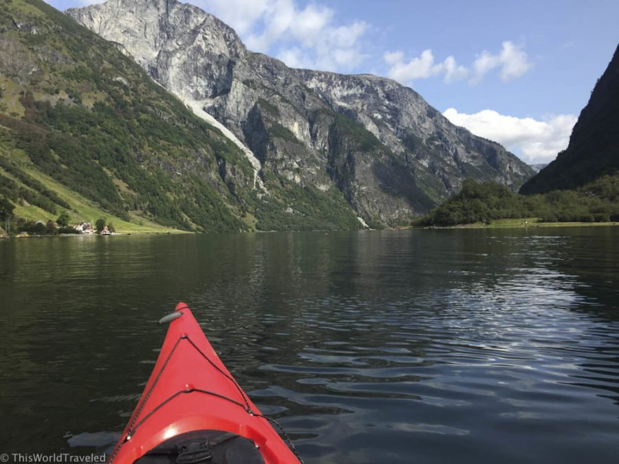 Summer Kayaking in the Norwegian Fjords