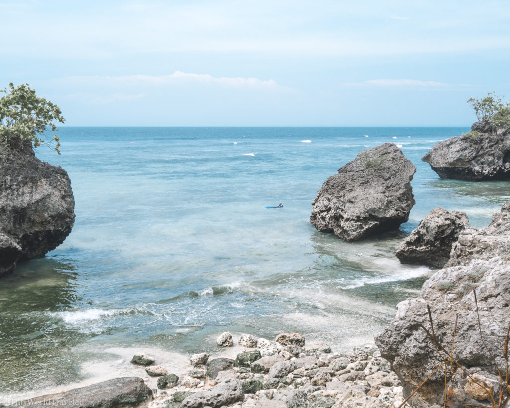 One of the unimpressive beaches in Bali that you have to pay for. Not worth the money.