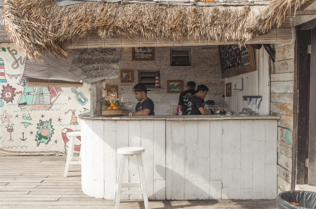 The adorable and delicious Nalu Bowls is located right next to Single Fin in Uluwatu! Be sure to stop here during your visit to indulge in a smoothie bowl!