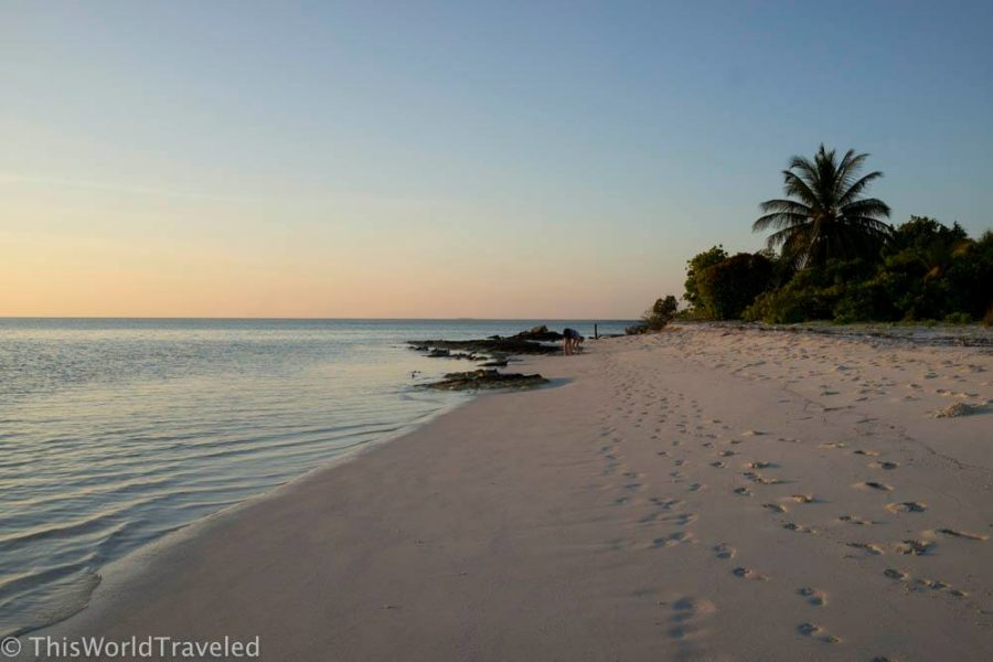 If you travel the Maldives on a budget you can still enjoy these beautiful beaches on the local islands