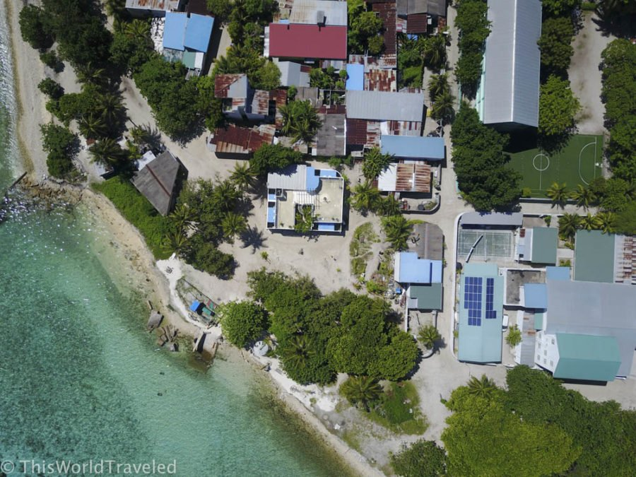 The small local island of Mahibadhoo is a great place to spend your budget holiday in the Maldives