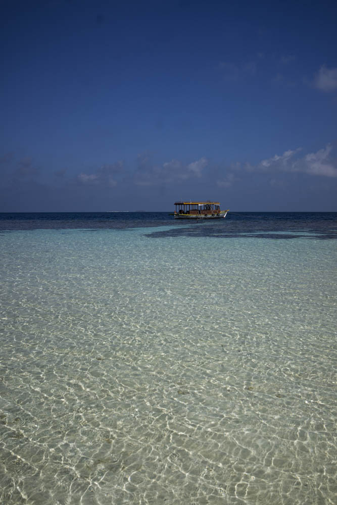 The beautiful picnic island which is a day excursion in the Maldives