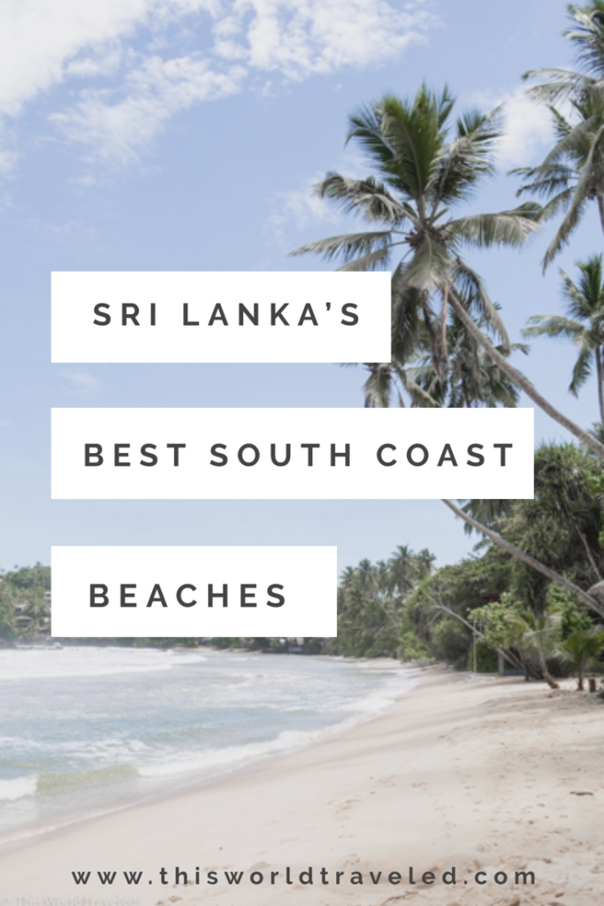 Read all about the best beaches to stroll along on Sri Lanka's Southern Coast