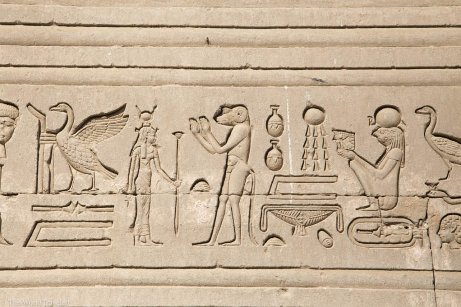 When you travel egypt you will see may hieroglyphics that depict the life in ancient times