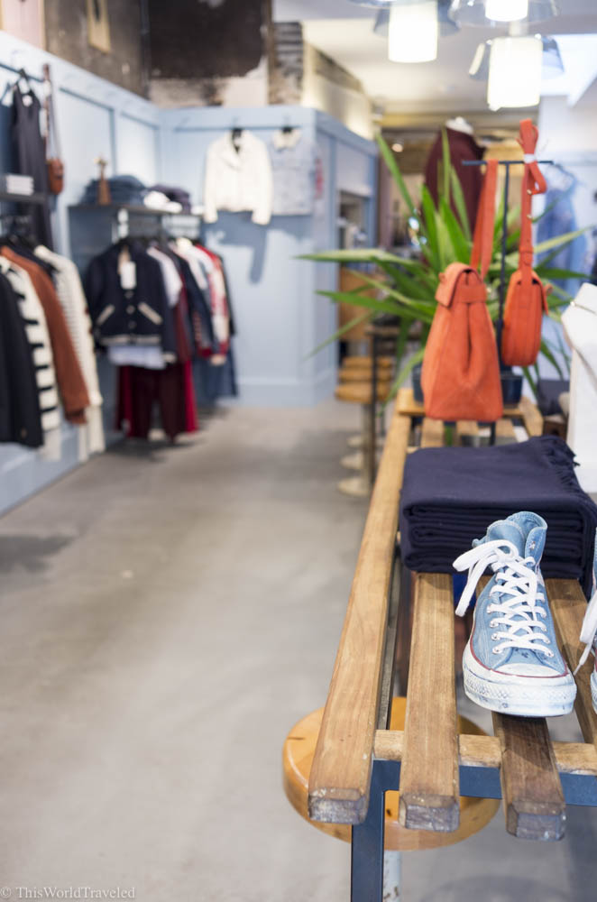One of the trendiest boutique shops in Amsterdam is Tenue De Nines
