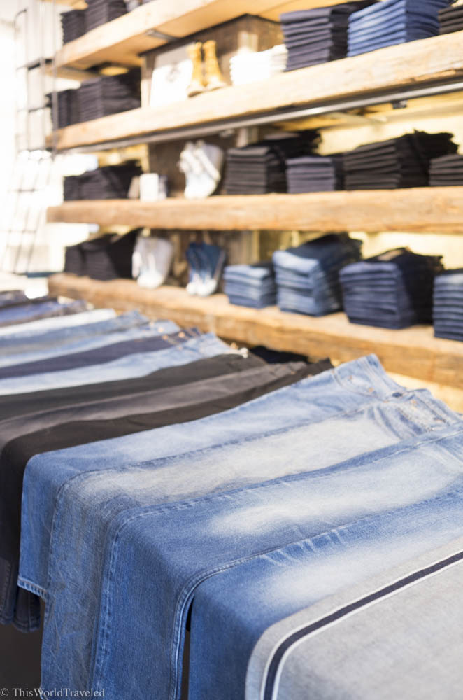 Tenue de Nines in Amsterdam is well known for selling some of the best jean brands in town.