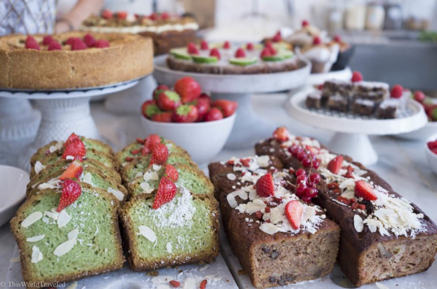 Many of the baked goods that you can find at Pluk in Amsterdam