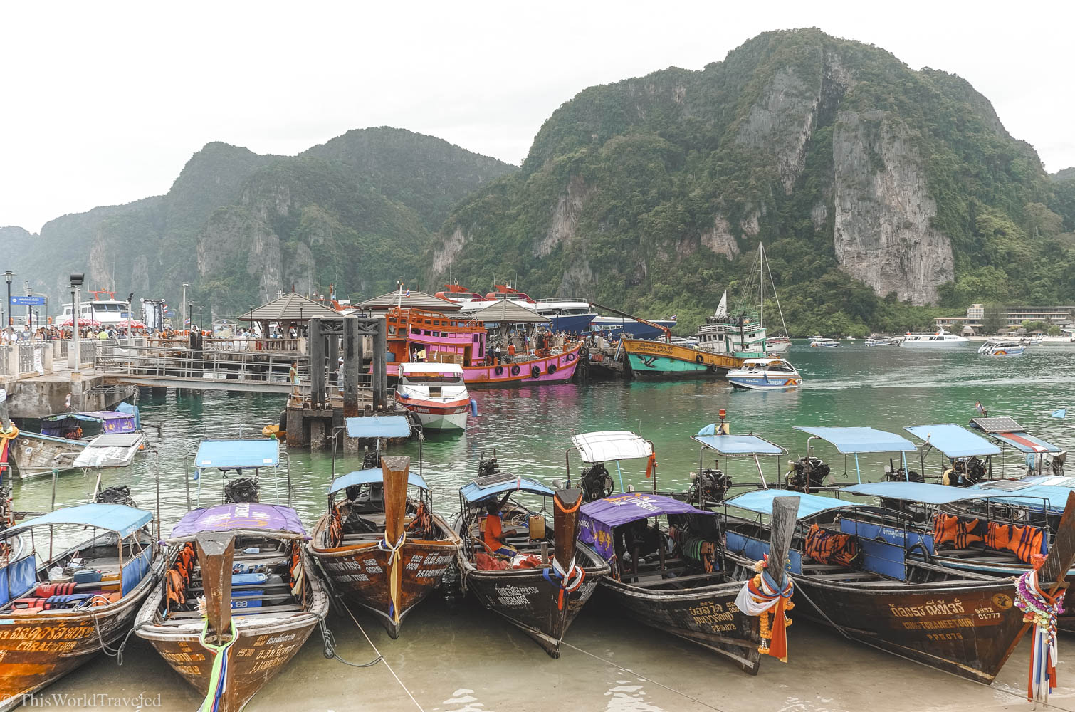 The Phi Phi Islands: Thailand's Party Hotspot