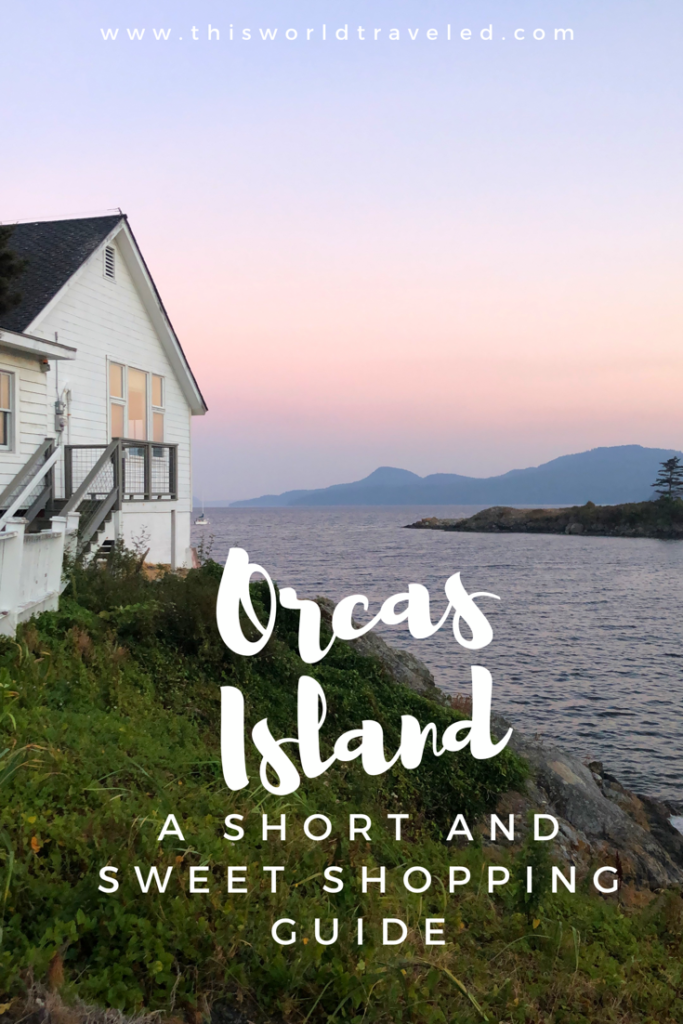 A shopping guide to Orca's Island! A great guide to finding all the perfect gifts to take home from your trip