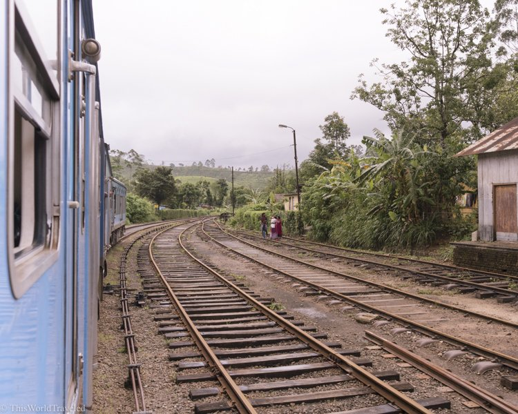 Train travel in Sri Lanka is such an easy and inexpensive way to get around