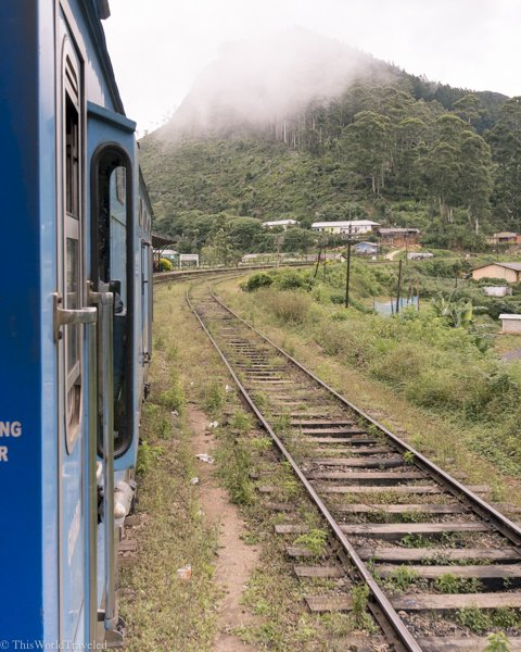 The train journey from Kandy to Ella is named one of the most beautiful in the world