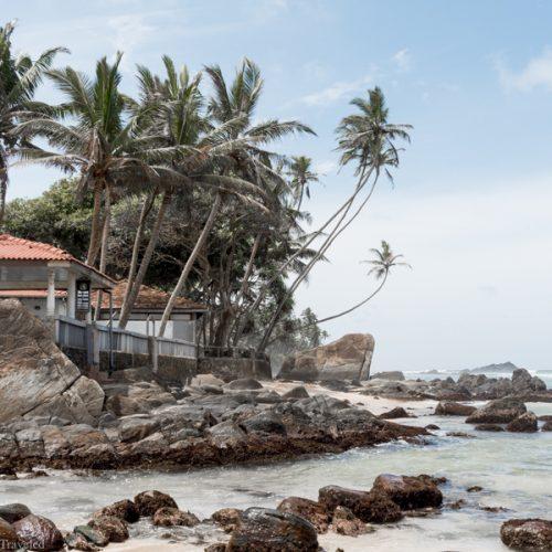 The beautiful beaches of Sri Lanka's Southern Coast