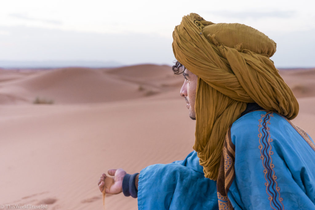 Visiting the Erg Chebbi in the Sahara desert is a huge draw for travelers visiting Morocco. Be sure to make the journey out here and spend the night sleeping under the stars