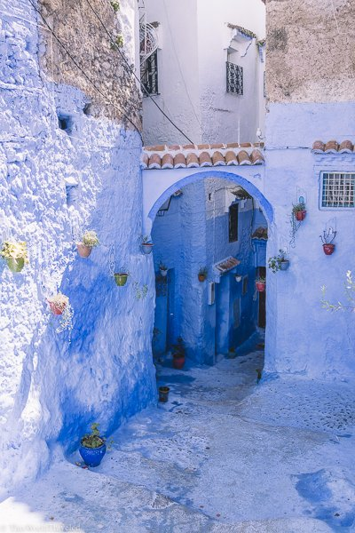 Appropriately named Morocco's Blue Pearl, the town of Chefchaouen is a travelers dream. The entire city is painted all shades of blue and is even more stunning to see in person.