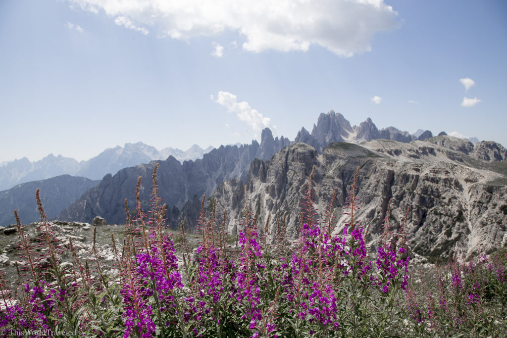 Hiking in the Italian Dolomites offers some of the most stunning panoramic views. Read all about how to trek the Tre Cime di Lavaredo Loop.