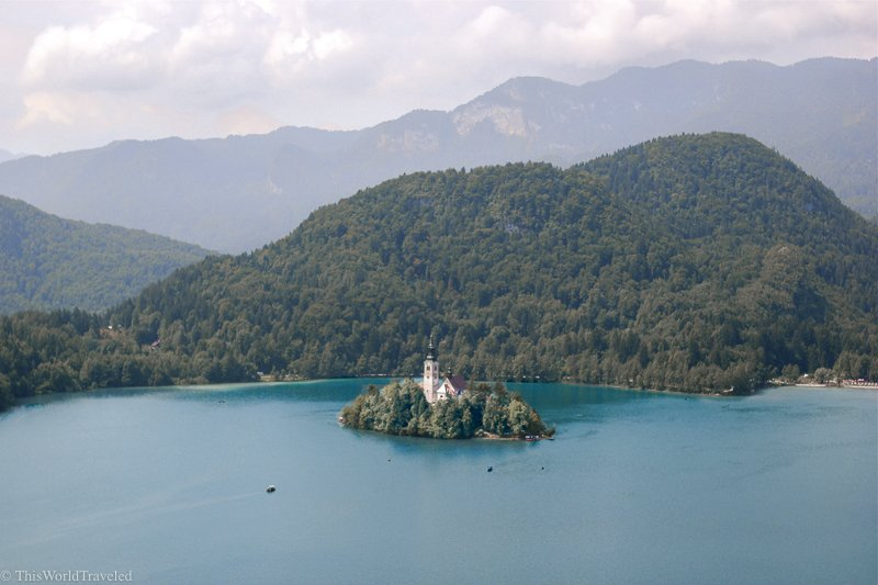 Lake Bled is one of the most beautiful lakes in Slovenia. The church not the island makes for a fairytale-esque destination.