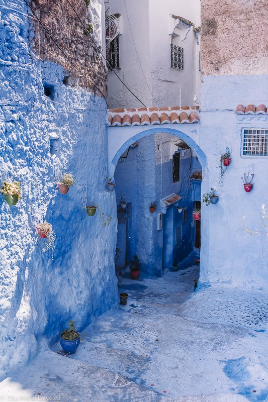 Chefchaouen is one of the most beautiful cities in Morocco.