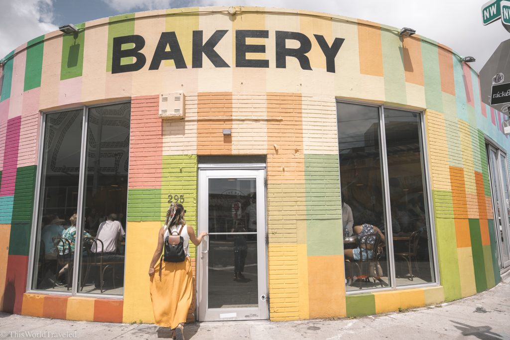 Event the bakery in Miami's Wynwood Arts District is full of vibrant colors!