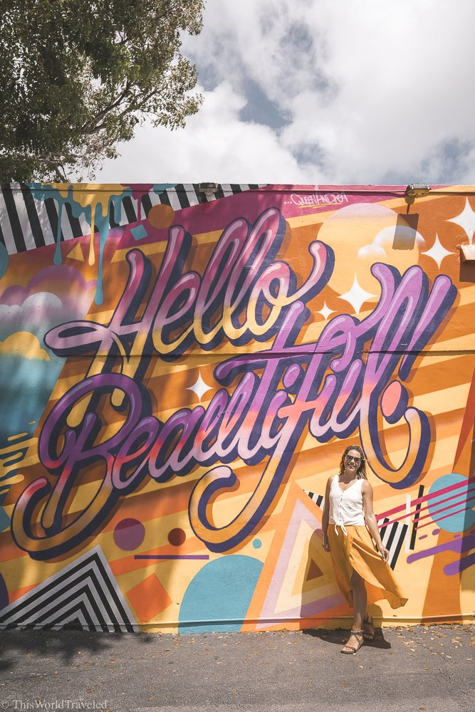Find out all the best things to do and see in Miami's Wynwood Arts District!