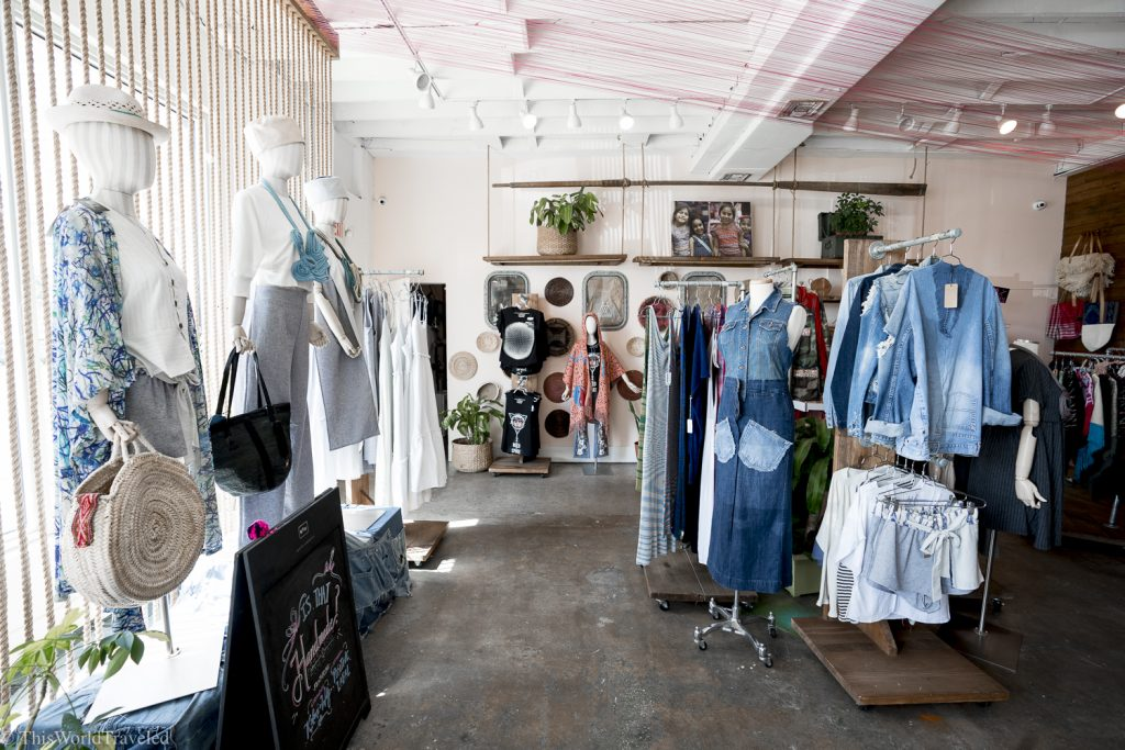 The Nomad Tribe shop in Miami, Florida is all about sustainable fashion