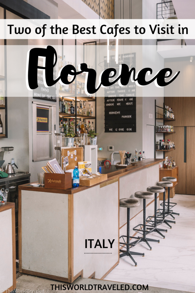 Continue reading to find out what the two best cafes in Florence Italy are!