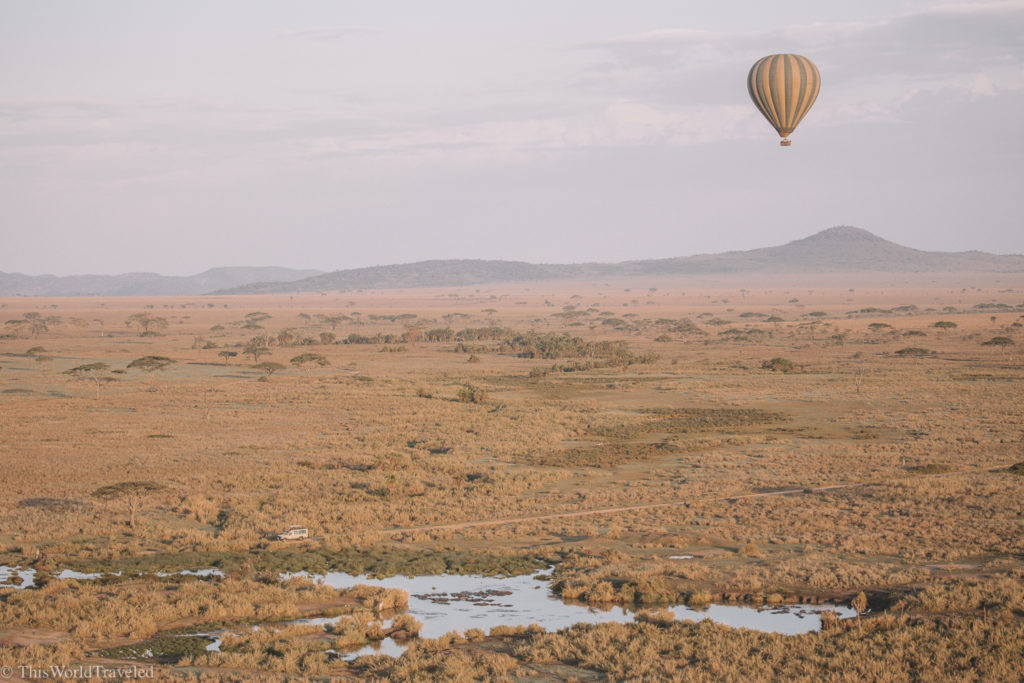 Be sure to add a hot air balloon ride into your Tanzania itinerary!
