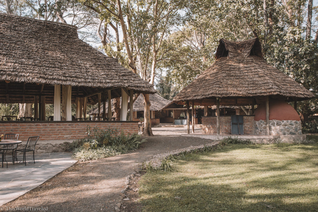 The beautiful estate of Rivertree Country Inn in Arusha